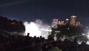 Nik Wallenda Walk over Niagara Falls