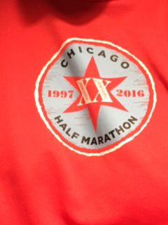Chicago Half Marathon Shirt