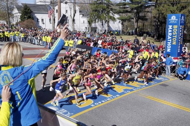 2013 Boston Marathon Start