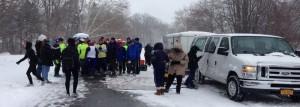 Start of Niagara Area Habitat for Humanity Christmas 4 Mile
