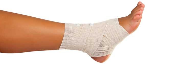 My injured foot