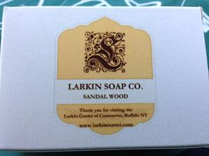 Bath & Bliss recreation of Larkin Soap Company bar soap
