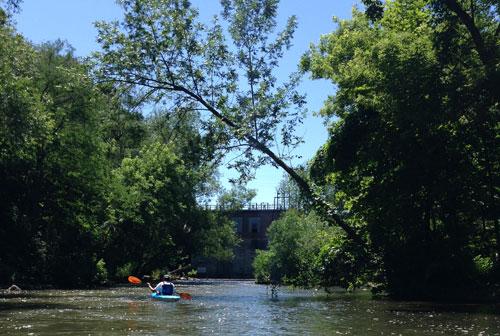 18 Mile Creek - Burt Dam