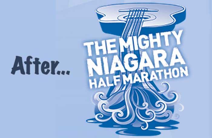 After the Mighty Niagara Half Marathon