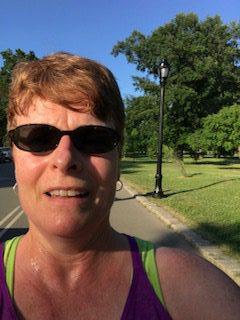 Running with Goodbar in Delaware Park
